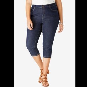 Suko Jeans cropped Jean dark wash